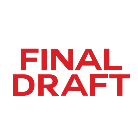 Bold FINAL DRAFT Stamp