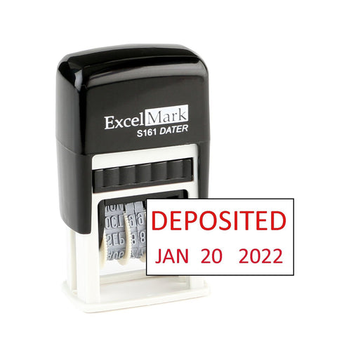 Small Deposited Date Stamp