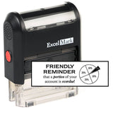 Friendly Reminder Portion Overdue Stamp