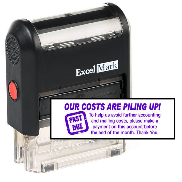 Our Costs Are Piling Up Stamp