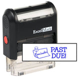 Reminder Past Due Stamp