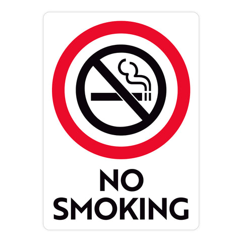 No Smoking Warehouse Safety Sign