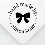 Simple Bow Design Stamp