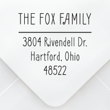 Foxy Address Stamp