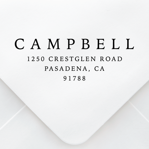 Simple Classic Address Stamp