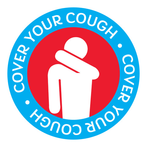 Cover Cough Decal