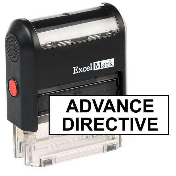 Large Advance Directive Stamp