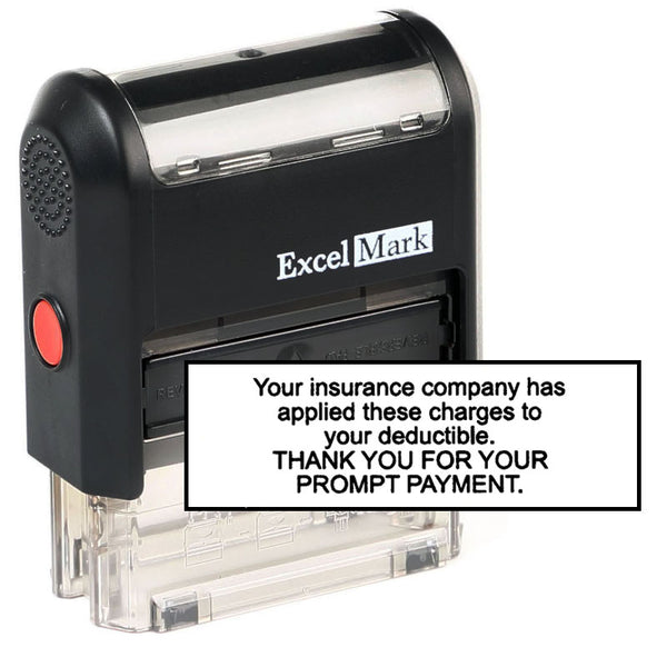 Large Thank You for Your Payment Stamp