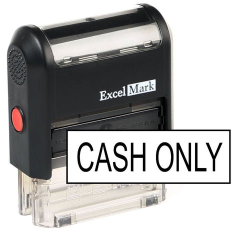 Cash Only Stamp