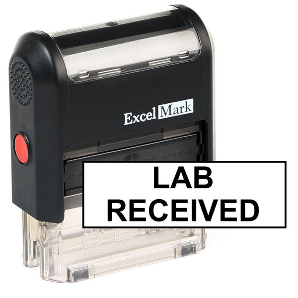 Lab Received Stamp