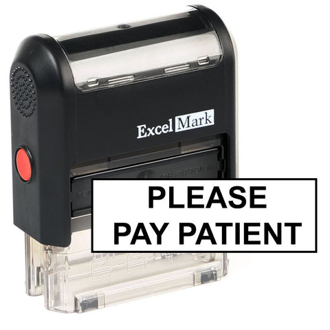 Please Pay Patient Stamp