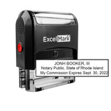 Rhode Island Notary Stamp - Self-Inking