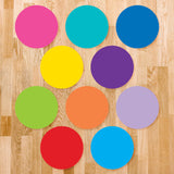 Color Circle Classroom Floor Decal