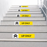 Up Only Stair Decal
