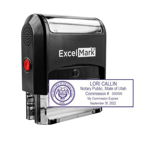 Self-Inking Utah Notary Stamp
