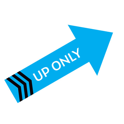 Up Only Wall Decal