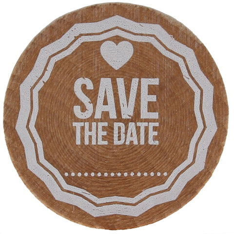 Save The Date (Dotted Line) Stamp