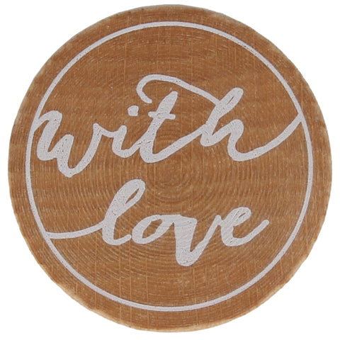With Love (Cursive) Stamp