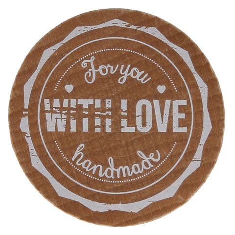 For You With Love Handmade Stamp