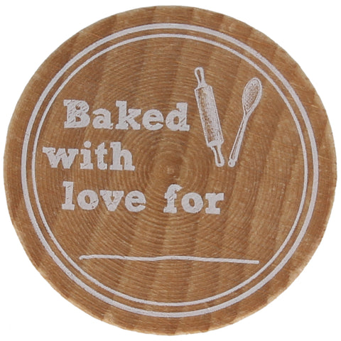 Baked With Love For Stamp