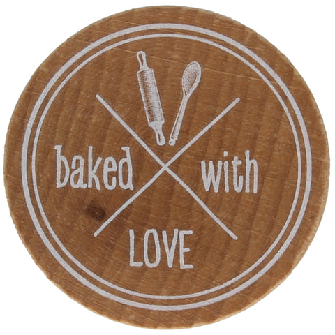 Baked With Love Stamp