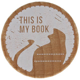 This Is My Book Stamp