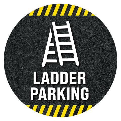Ladder Parking Floor Decal