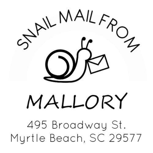 Address Embosser Snail Mail Address Embosser
