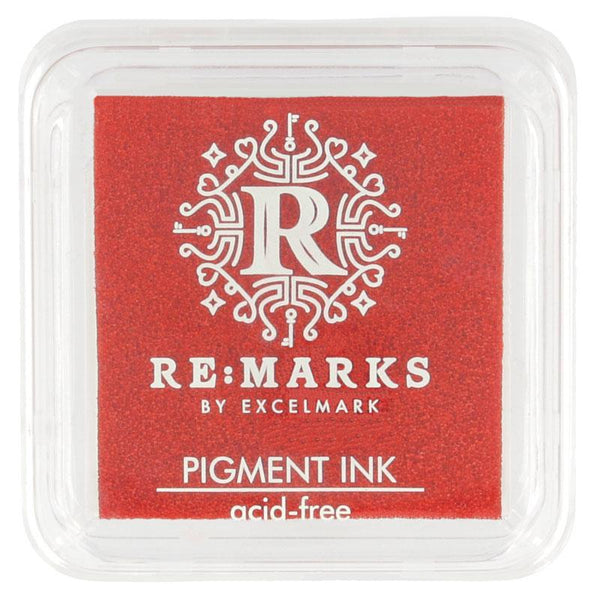 Craft Ink Pads Cranberry Red Pigment Ink Pad