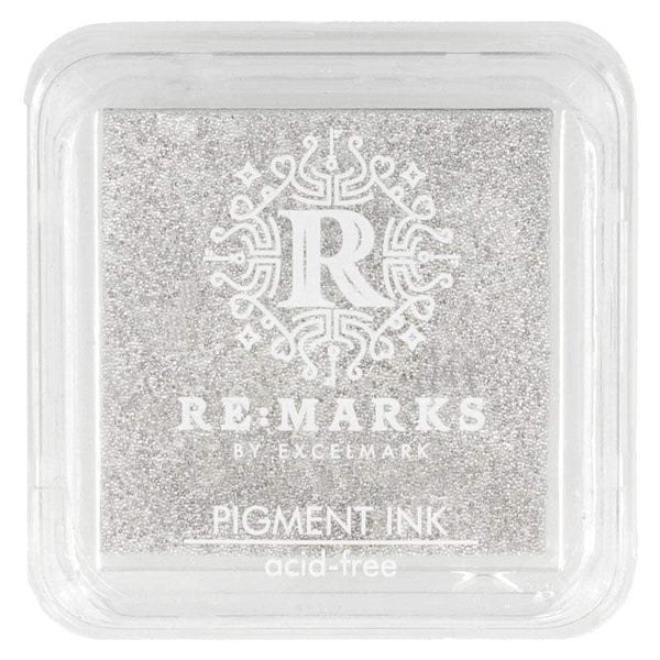 Craft Ink Pads Silver Metallic Pigment Ink Pad