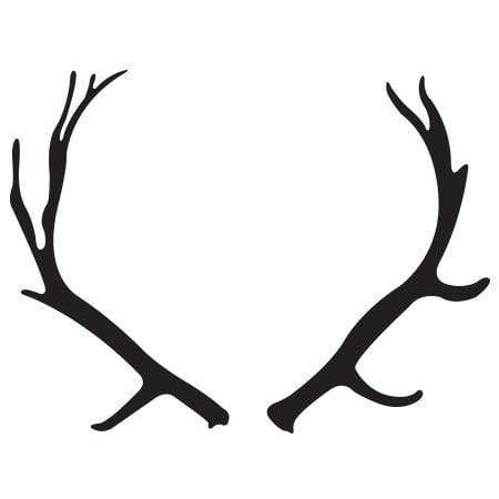 Craft Stamp Antlers Stamp
