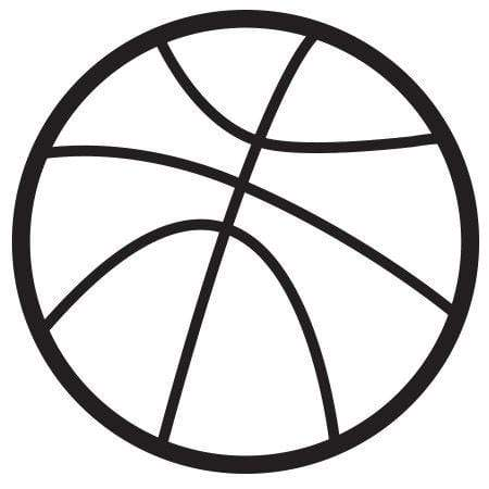 Craft Stamp Basketball Stamp
