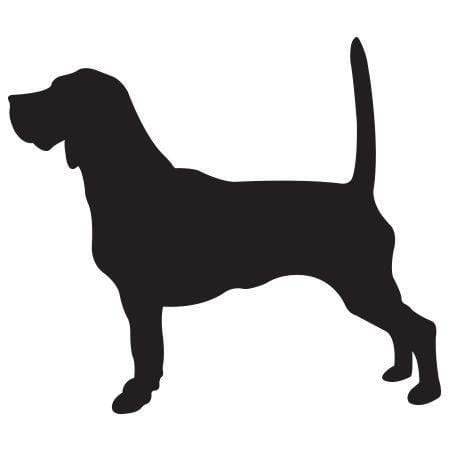 Craft Stamp Beagle Silhouette Stamp