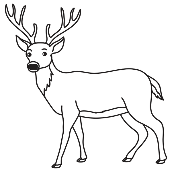 Craft Stamp Buck Stamp