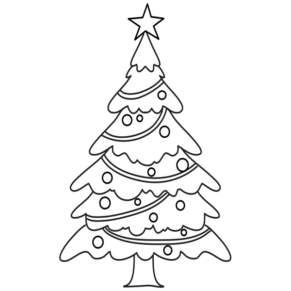 Craft Stamp Christmas Tree