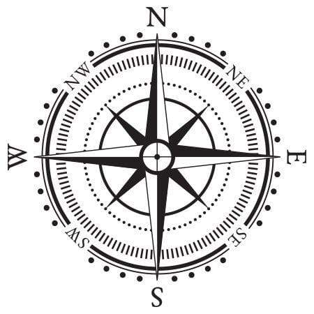 Craft Stamp Compass Stamp