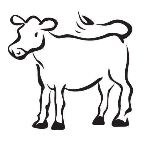 Craft Stamp Cow Stamp