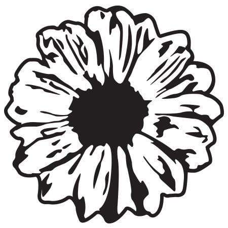 Craft Stamp Daisy Stamp