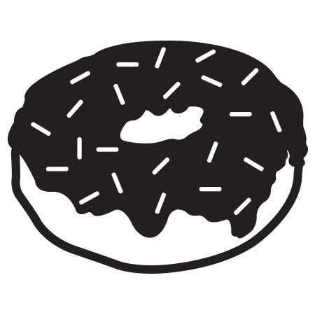 Craft Stamp Donut Stamp