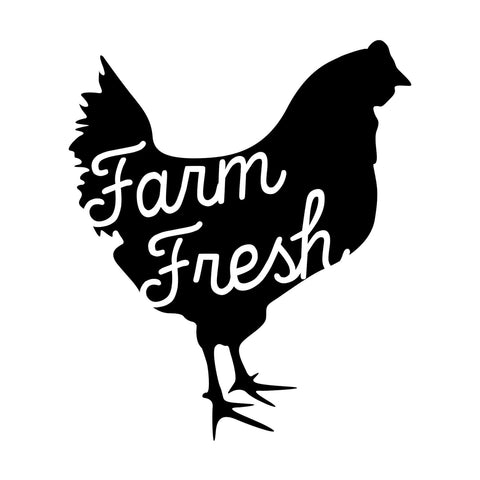 Craft Stamp Farm Fresh Chicken Stamp