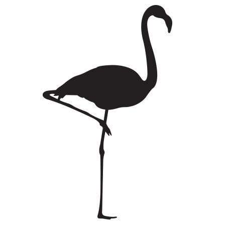 Craft Stamp Flamingo Stamp