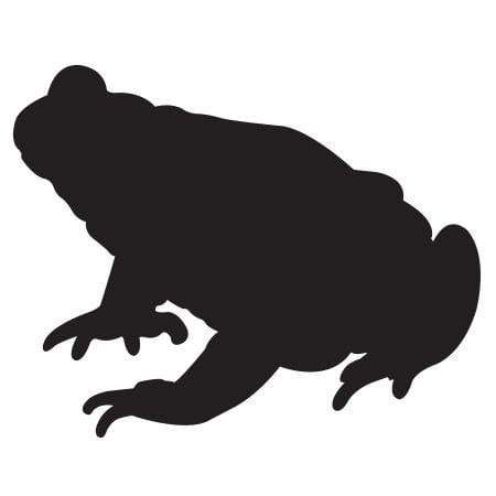 Craft Stamp Frog Silhouette Stamp