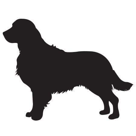 Golden Retriever Silhouette Stamp Rubberstamps Com The golden retriever is the most intelligent and easiest to train of all dog breeds! golden retriever silhouette stamp