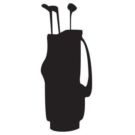 Craft Stamp Golf Bag Stamp