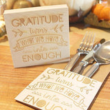 Craft Stamp Gratitude Quote Stamp