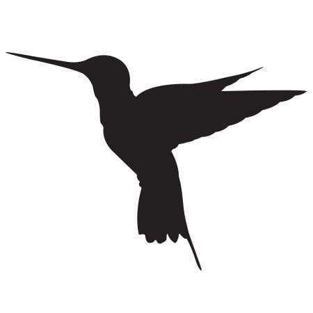 Craft Stamp Hummingbird Silhouette Stamp