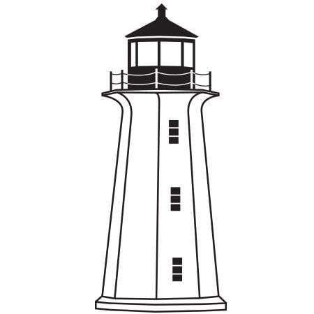 Craft Stamp Lighthouse Stamp