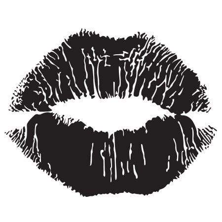 Craft Stamp Lips Stamp