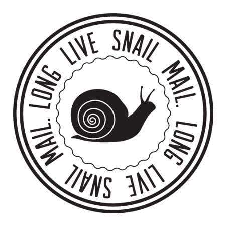 Craft Stamp Long Live Snail Mail Stamp