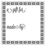 Craft Stamp Made By Gift Tag Stamp